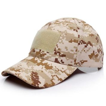 New Camo Tactical American Hat for Unisex
