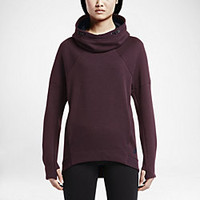 The Nike Tech Fleece Pullover Women's Hoodie.