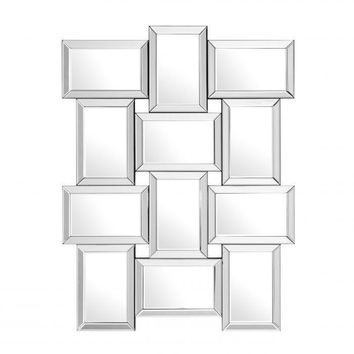 RECTANGULAR GRID WALL MIRROR | EICHHOLTZ ARCHER