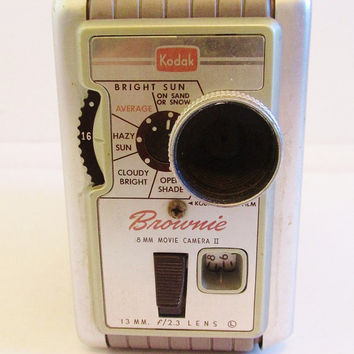 Vintage 1960's Kodak Brownie 8mm Movie Camera II