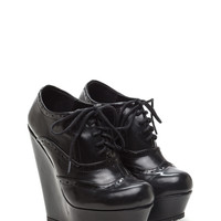 All Mine Oxford Platform Wedges