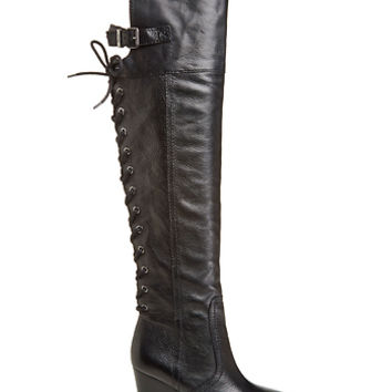 DailyLook: Circus by Sam Edelman Tatum Thigh High Boots in Black 6 - 8.5