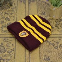Harry Potter Winter hat Warm Sport Beanies Knit Hats Women Knitted Ski Skullies Men Wool Caps kid WOMEN MEN Christmas Gift MN683