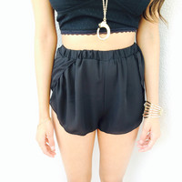 Black Jenx Beach Shorts