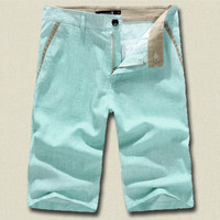Premium Design Men Fashion Linen Shorts