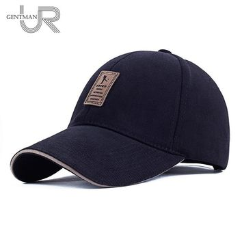 Trendy Winter Jacket Hot Sale Unisex Brand Fashion Baseball Cap Sports Golf Snapback Simple Solid Color Hats For Men High Quality Cap AT_92_12