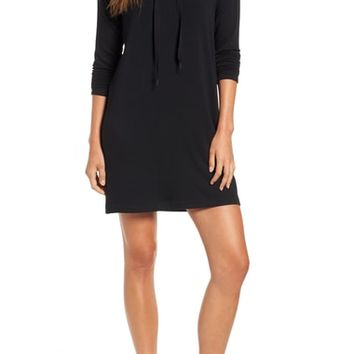 Lou & Grey Signaturesoft Drawstring Cowl Dress | Nordstrom