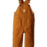 Carhartt Kids Canvas Bib Overalls (Infant) Carhartt Brown - Zappos.com Free Shipping BOTH Ways