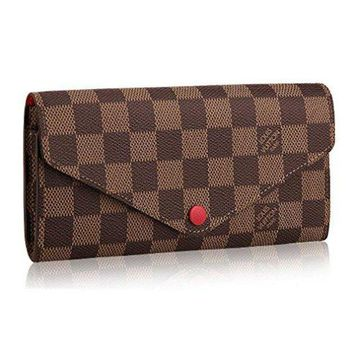 DCCK Louis Vuitton Damier Canvas Portafoglio Josephine Wallet Article:N63543