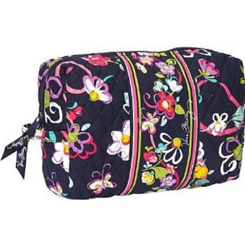 Vera Bradley Large Cosmetic (Ribbons)