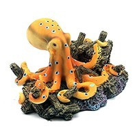 Global Market Aquarium Fish Tank Emulational Octopus Design Ornament Landscape Water Decor