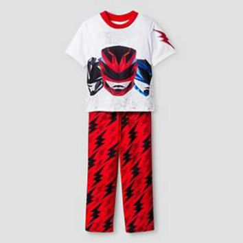 Boys Power Rangers Pajama Set - Red : Target
