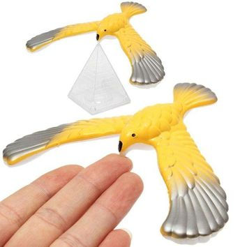 LMFON 1pcs amazing eagle magic box desk display decor doll balancing bird novelty fun learning toy new year bset gift for children kid