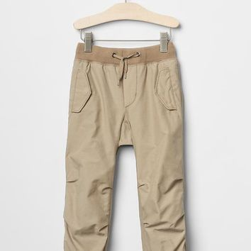 Gap Baby Jersey Lined Lifestyle Joggers