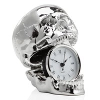 Skull Clock | Clocks | Accessories | Decor | Z Gallerie