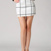 Plaid Betsy Mini Skirt