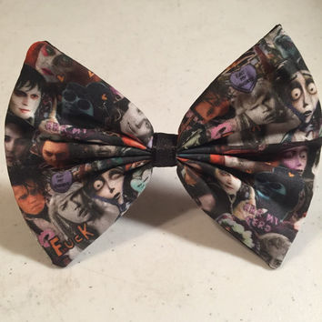 Depp is Everything Fabric Hair Bow