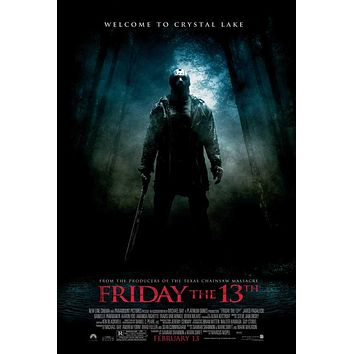 Friday the 13th 27x40 Movie Poster (2009)