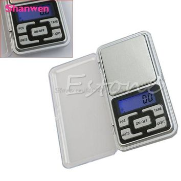 DCCK1IN new 500g 0 1g digital pocket scale jewelry precision weight electronic balance g205m best quality