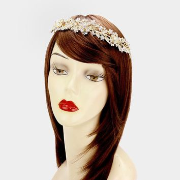 Wedding Crown and hair piece #W339726
