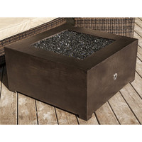 2 Foot 8 Inch Square You-Design-It Custom Made Fire Pit Table