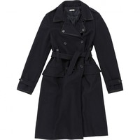 Coat MIU MIU Black