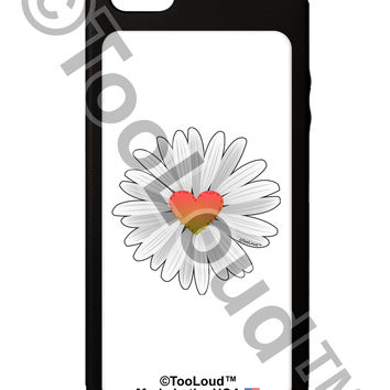 Pretty Daisy Heart iPhone 5C Grip Case