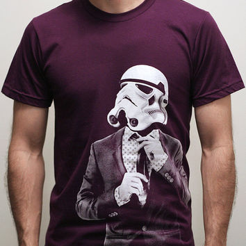 Smarttrooper - Mens t shirt / Unisex t shirt  ( Star Wars / Storm trooper t shirt )
