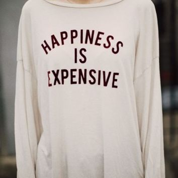 SAMANTHA HAPPINESS IS EXPENSIVE TOP