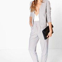 Eloise Pleat Front Pocket Crepe Trouser