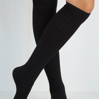 90s, Scholastic Basically Amazing Socks in Black by ModCloth