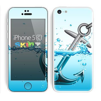 The Anchor Splashing Skin for the Apple iPhone 5c