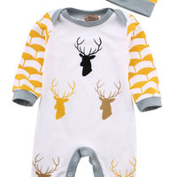 Reindeer Romper 2 Piece Set