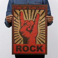 Continue Rock and Roll! Posters 51x35.5cm