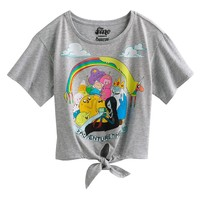 Adventure Time Tie-Front Tee - Girls 7-16
