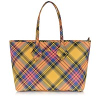 Vivienne Westwood Designer Handbags Derby Fabric Tote Bag