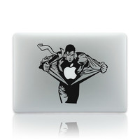 "Creative Anime Superman Partial Skin Cover Vinyl Computer Laptop Decal Sticker for Macbook 17"" = 1946547972"