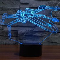 X-Wing 3D Star Wars Lamp ***3 LEFT***