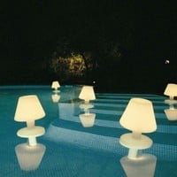 Modern Floating Pool Lights - Opulentitems.com