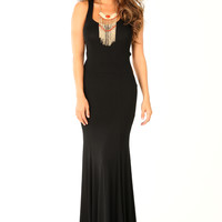 Wow Or Never Dress: Black