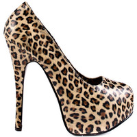 Viva Bordello - Mile High City - Cheetah Print Pu