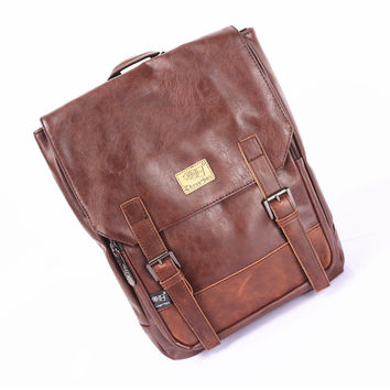 Stylish Comfort Back To School On Sale Hot Deal College Korean Fashion Pc Casual England Style Vintage Backpack [6583343687]
