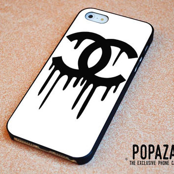 Chanel Drip Black Logo iPhone 5 | 5S Case Cover