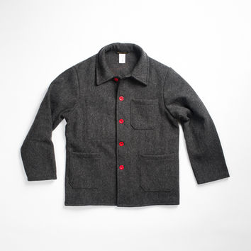Le Laboureur Wool Work Jacket Grey - Hand-Eye Supply