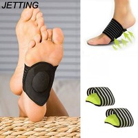 JETTING Foot Arch Support Insoles Heel Pain Relief Plantar Fasciitis Insole Run-up Pad Feet Soles Care Cushioned Shoes Insert