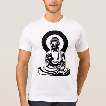 The Buddha: Men's American Apparel T-Shirt