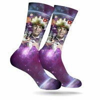 BILL NYE WEED MARIJUANA STONER SOCKS
