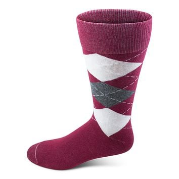 Men's Argyle Crew Sock