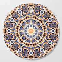 Abstract Mandala Pattern Cutting Board by tmarchev