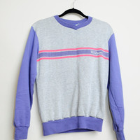 Vintage 80s/90s Colorful and Retro Wilson Pullover Sweat Shirt Unisex